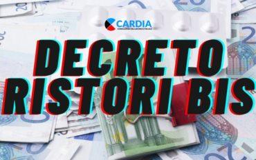 Indennizzi e ristori economici previsti dal decreto Ristori Bis