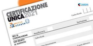 Modello 730 precompilato e Certificazione Unica 2021