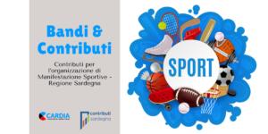 Contributi Per L'Organizzazione di Manifestazioni Sportive