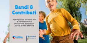Riprogettare Insieme - contributi per il mantenimento dell'offerta dei servizi per la prima infanzia